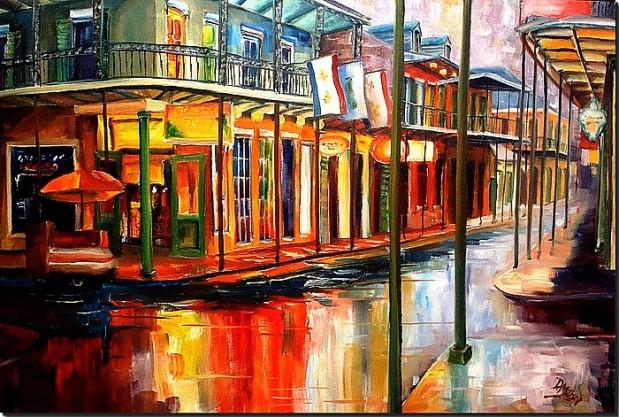 downpour on bourbon street - millsap- web